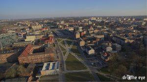 Drone Eye zdjęcie z drona Gliwice Centrum