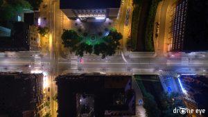 drOne eye Urząd miasta z lotu ptaka