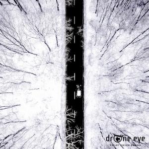 Gliwicka droga zimą - zdjęcie z drona